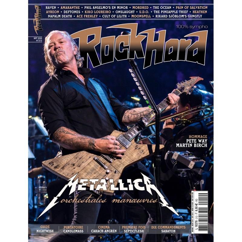 Couverture du Rock Hard n°212