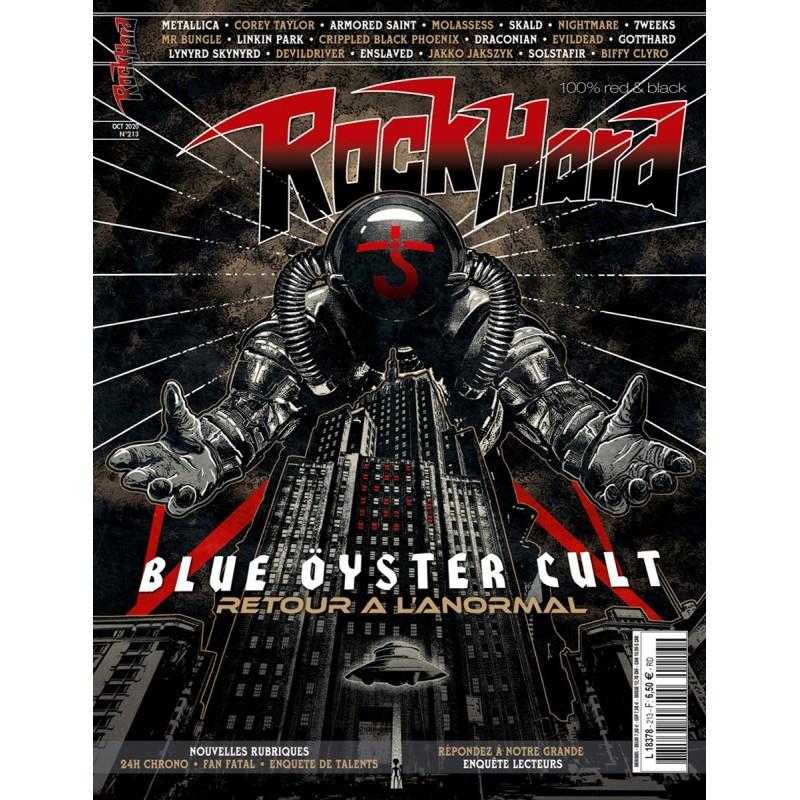 Couverture du Rock Hard n°213