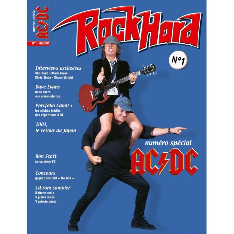 Couverture du Rock Hard n°1