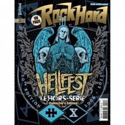 Couverture du hors-série Rock Hard n°10