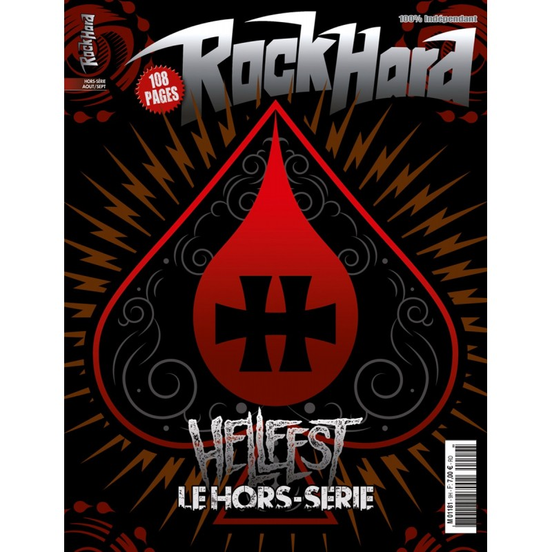 Couverture du hors-série Rock Hard n°11