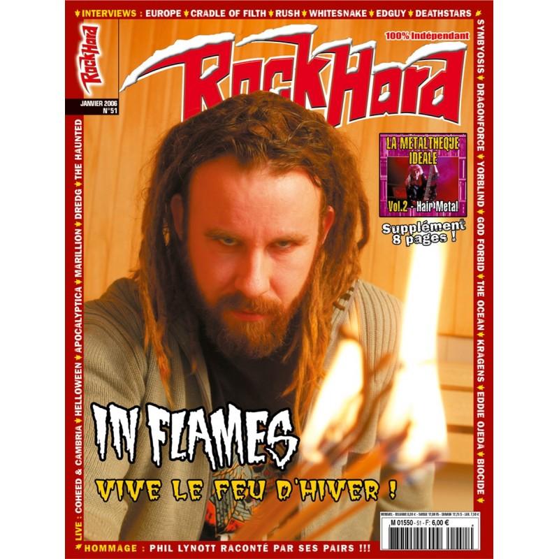 Couverture du Rock Hard n°51