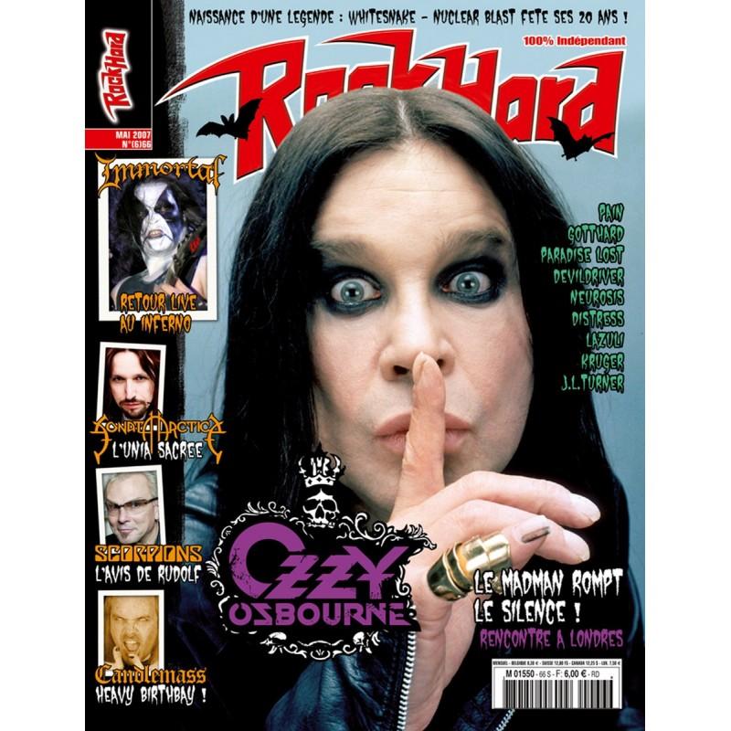 Couverture du Rock Hard n°66