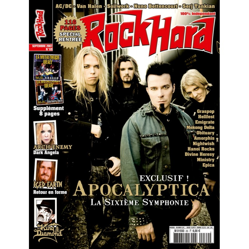 Couverture du Rock Hard n°69