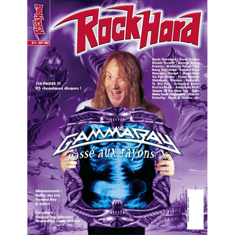 Couverture du Rock Hard n°3