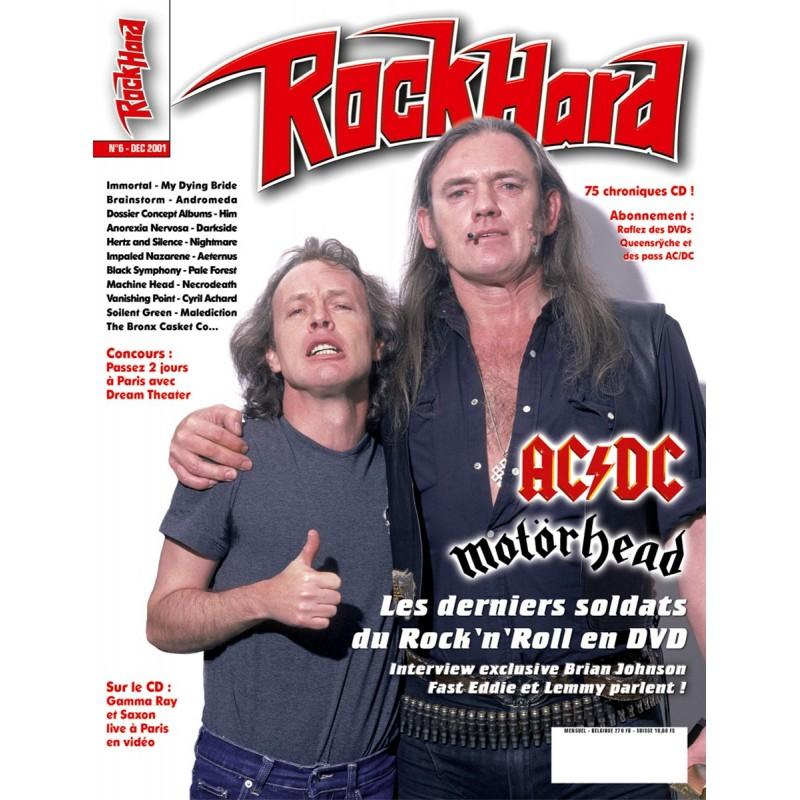 Couverture du Rock Hard n°6
