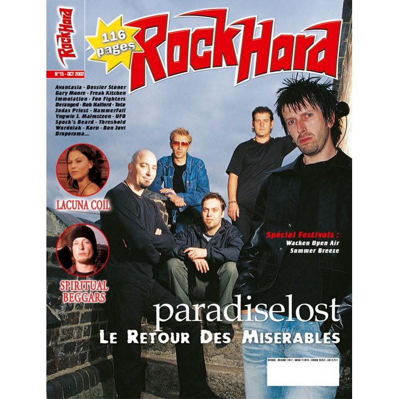 Couverture du Rock Hard n°15