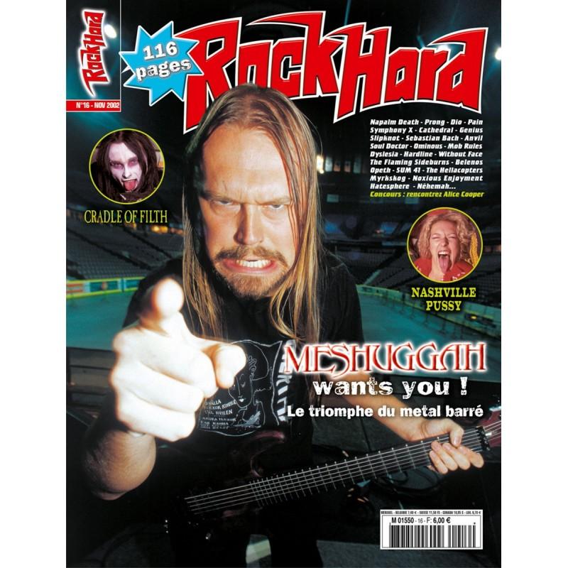 Couverture du Rock Hard n°16