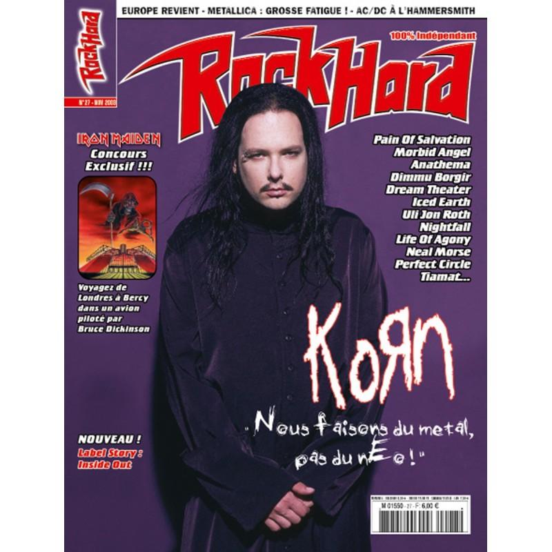 Couverture du Rock Hard n°27