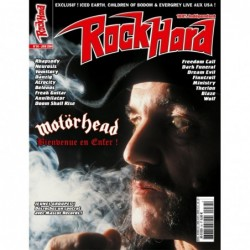 Couverture du Rock Hard n°34