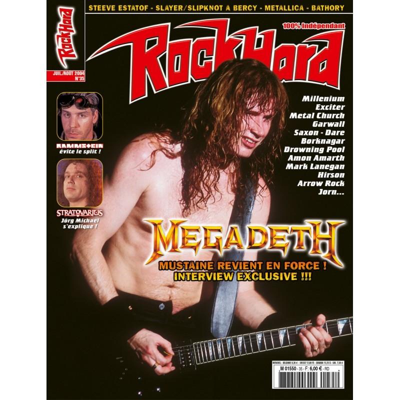 Couverture du Rock Hard n°35