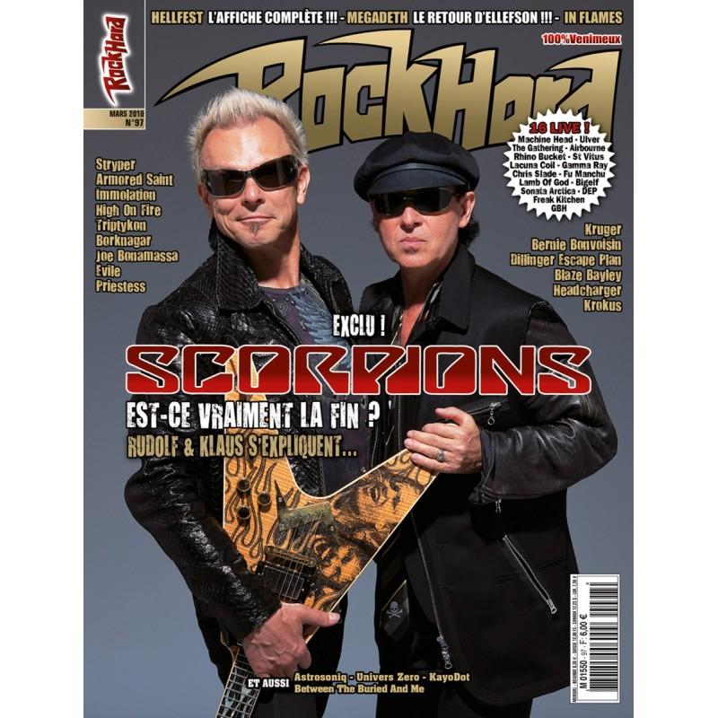 Couverture du Rock Hard n°97