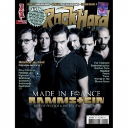 Couverture du Rock Hard n°116