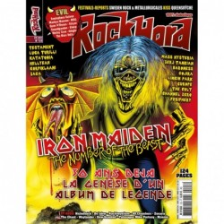 Couverture du Rock Hard n°123