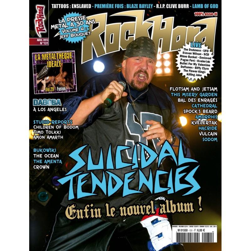 Couverture du Rock Hard n°131