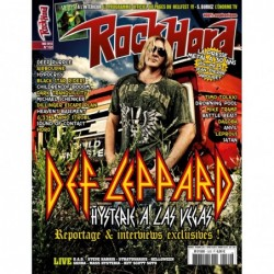 Couverture du Rock Hard n°132
