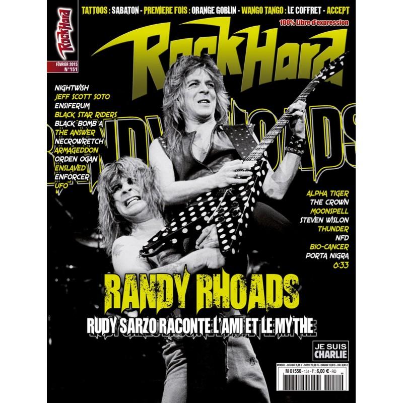 Couverture du Rock Hard n°151