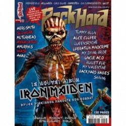 Couverture du Rock Hard n°157