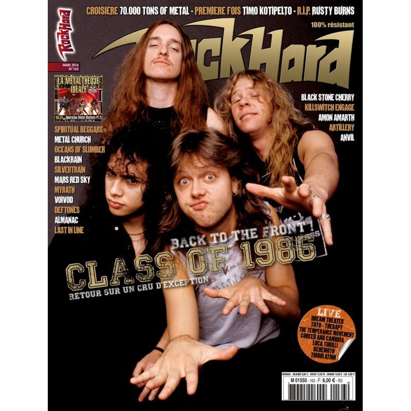 Couverture du Rock Hard n°163