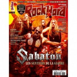 Couverture du Rock Hard n°167