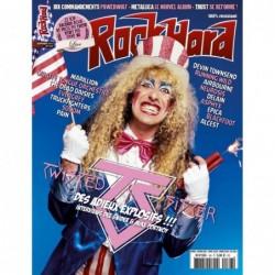 Couverture du Rock Hard n°168