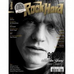 Couverture du Rock Hard n°182