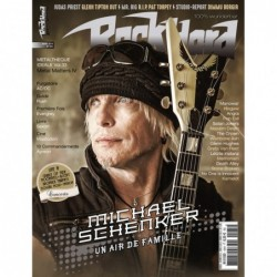 Couverture du Rock Hard n°185