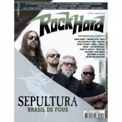 Couverture du Rock Hard n°205