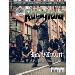 Couverture du Rock Hard n°206