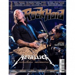Couverture du Rock Hard n°212