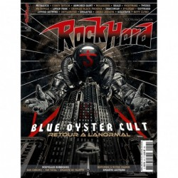 Couverture du Rock Hard n°213