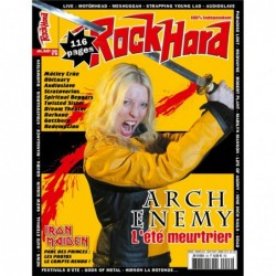Couverture du Rock Hard n°46