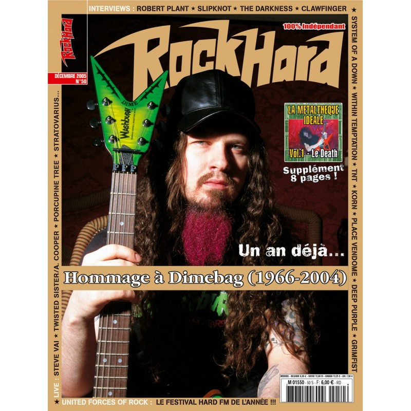 Couverture du Rock Hard n°50