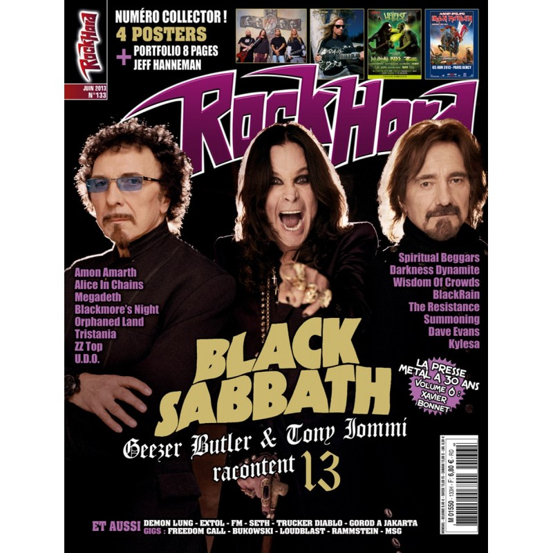 Couverture du Rock Hard n°133