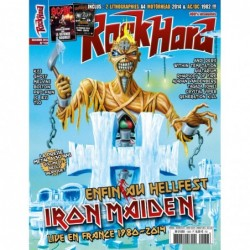 Couverture du Rock Hard n°138