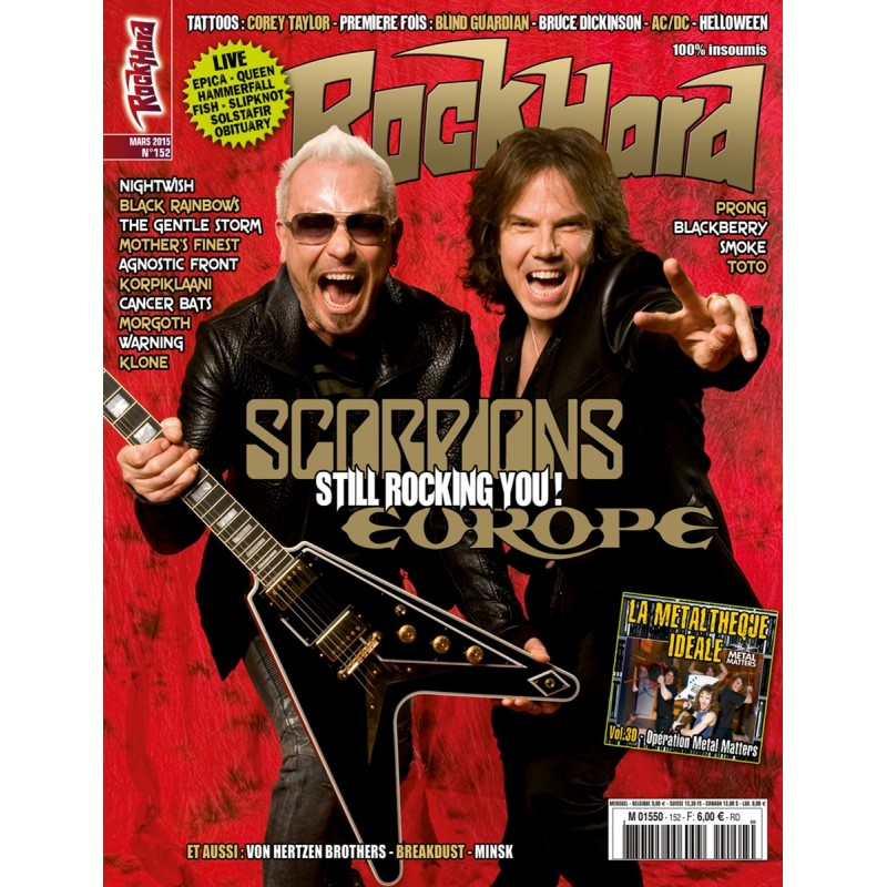 Couverture du Rock Hard n°152