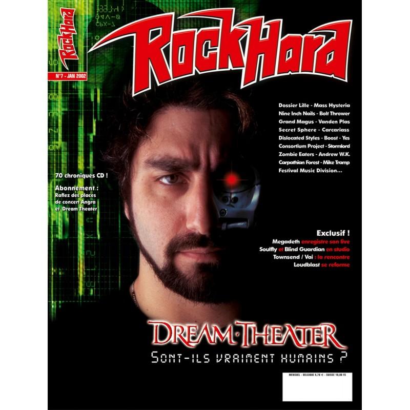 Couverture du Rock Hard n°7
