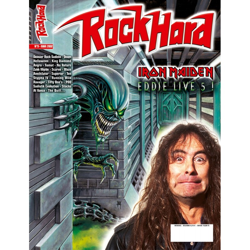Couverture du Rock Hard n°9