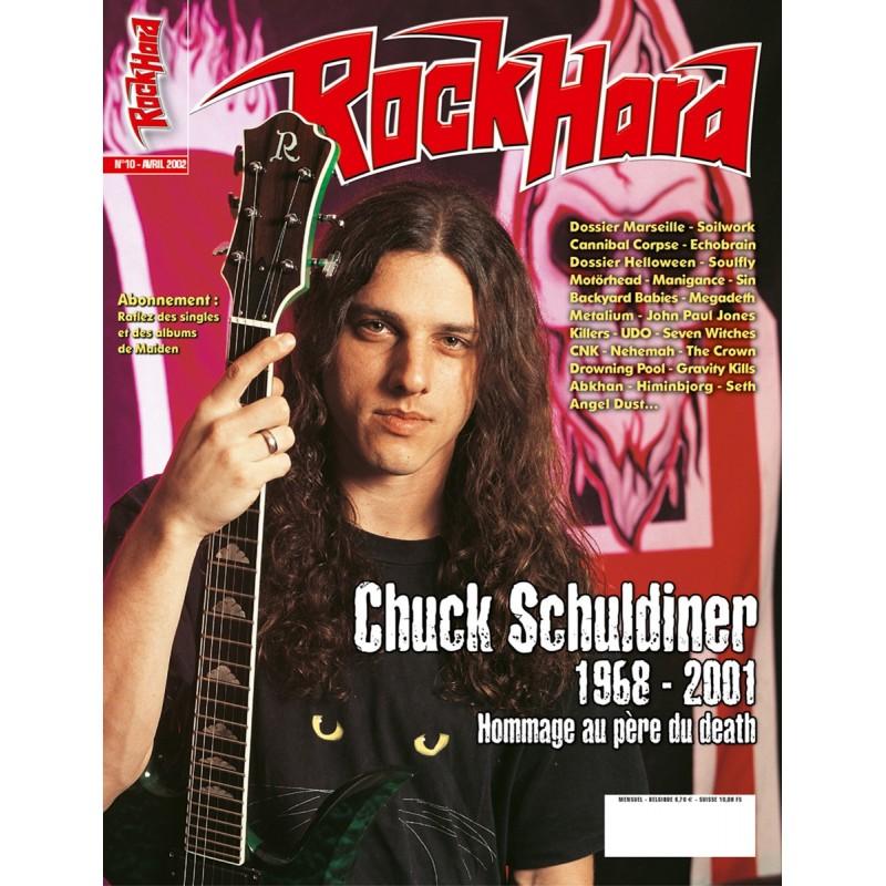 Couverture du Rock Hard n°10