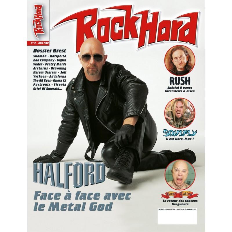 Couverture du Rock Hard n°12
