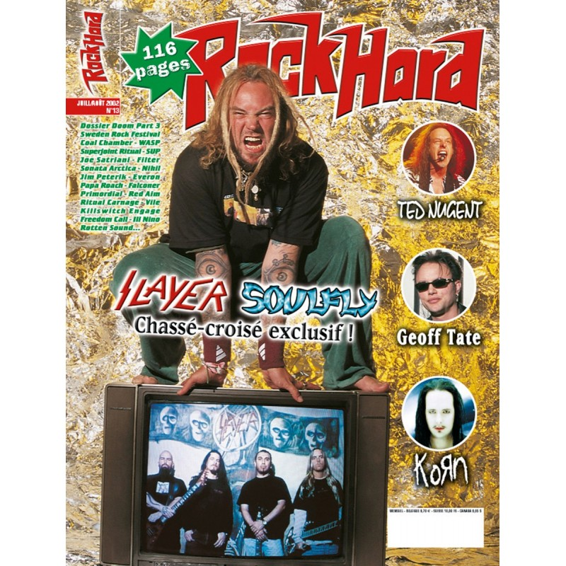 Couverture du Rock Hard n°13