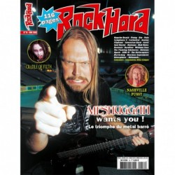 Couverture du Rock Hard n°16