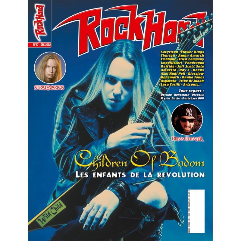 Couverture du Rock Hard n°17