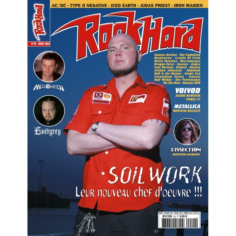 Couverture du Rock Hard n°20
