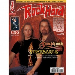 Couverture du Rock Hard n°21