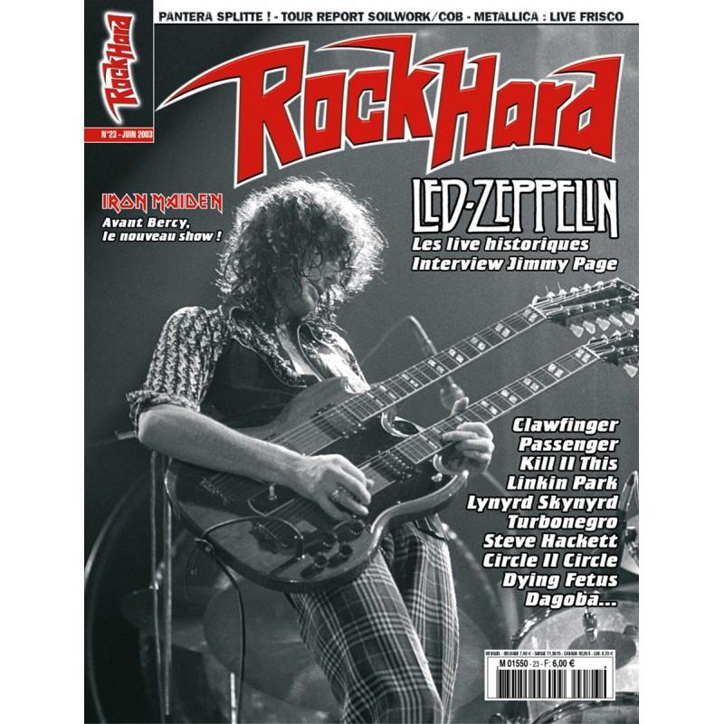 Couverture du Rock Hard n°23