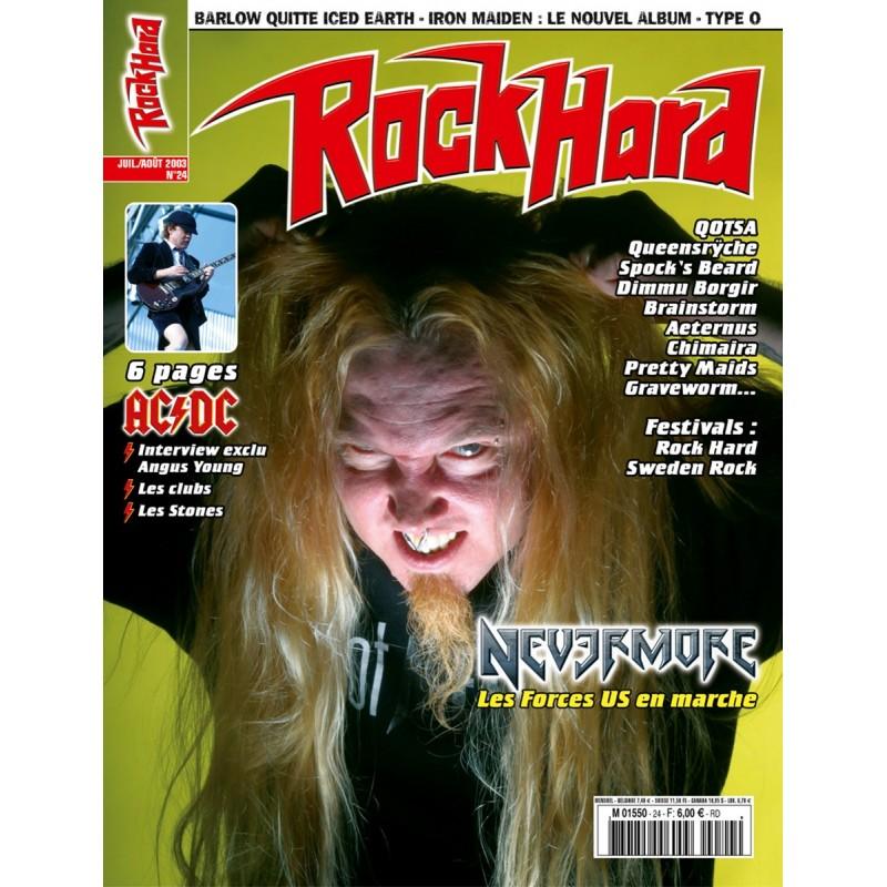 Couverture du Rock Hard n°24