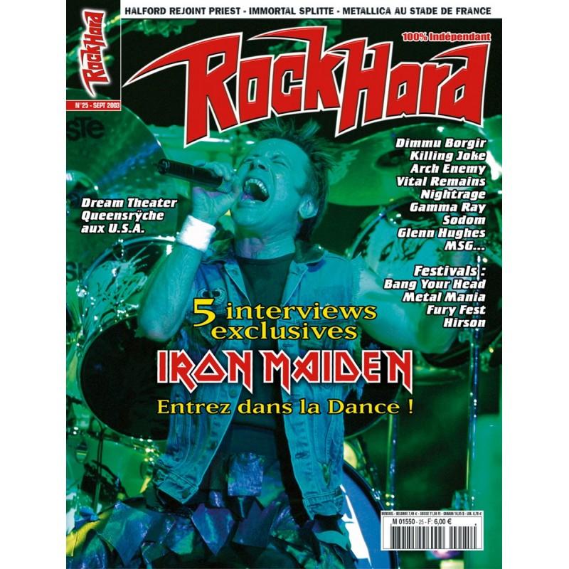 Couverture du Rock Hard n°25