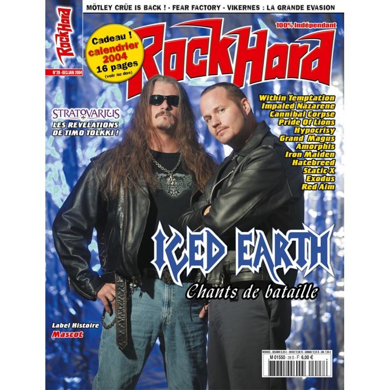 Couverture du Rock Hard n°28