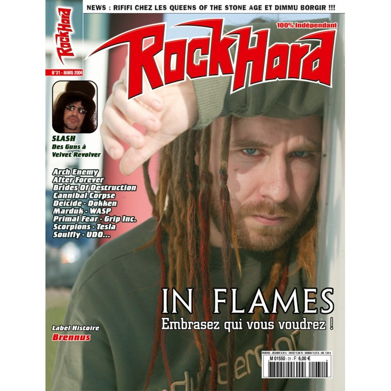 Couverture du Rock Hard n°31